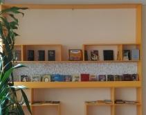 Встроенный стеллаж для книг