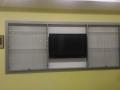 Встроенная витрина для кубков