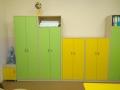 Цветные шкафы для пособий